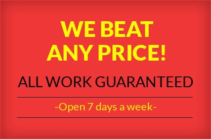 WE BEAT ANY PRICE!